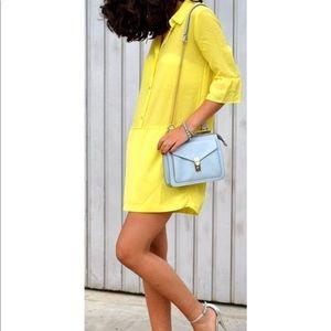 ZARA relaxed fit poplin shirt dress